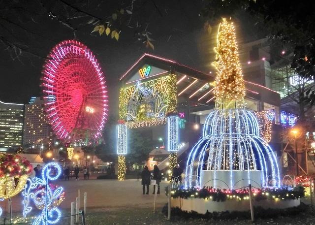 横浜ワールドポーターズ イルミネーション