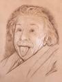 アインシュタイン・アンティーク仕上げ