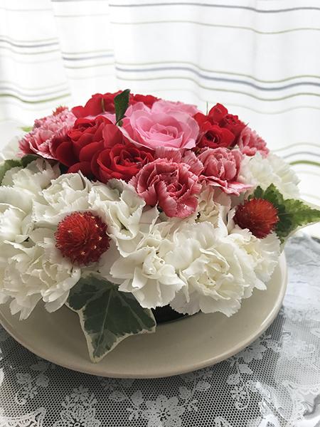 ケーキのお花