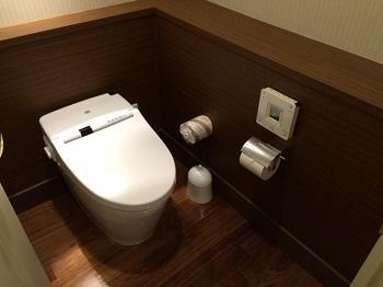 高級ホテルのトイレ