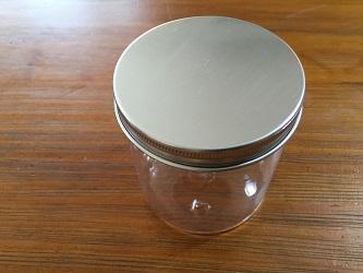 セリアアルミキャップペット容器3