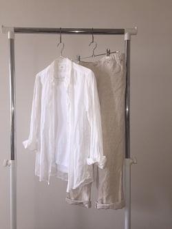 ユニクロリネンシャツ3