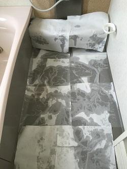 風呂石鹸カス2