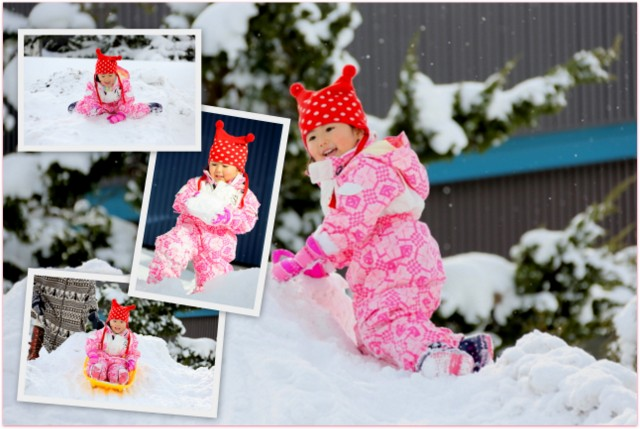 青森県 弘前市 冬 キッズ ロケーション 子ども 出張 写真 撮影 カメラマン