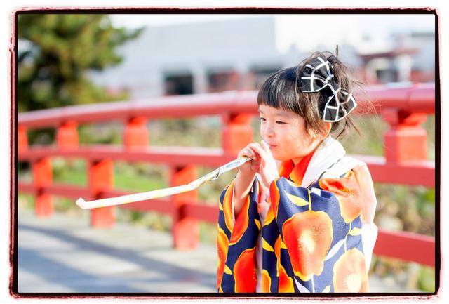 青森県 平川市 猿賀神社 猿賀公園 七五三 記念 写真 撮影 キッズ ロケーション 出張 カメラマン