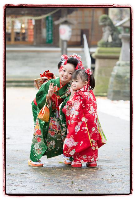 青森県 黒石市 黒石神明宮 神社 七五三 出張 記念 写真 撮影 カメラマン キッズ ロケーション