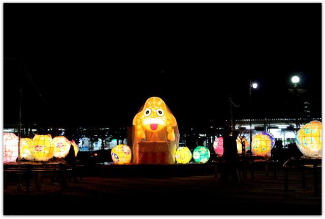 青森県 青森市 あおもり灯りと紙のページェント 写真 駅前 観光