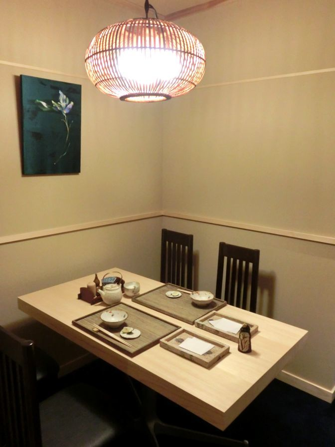 日本橋 蕎ノ字 地下個室