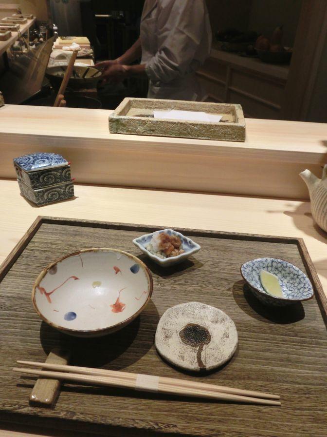 日本橋 蕎ノ字 先付け1