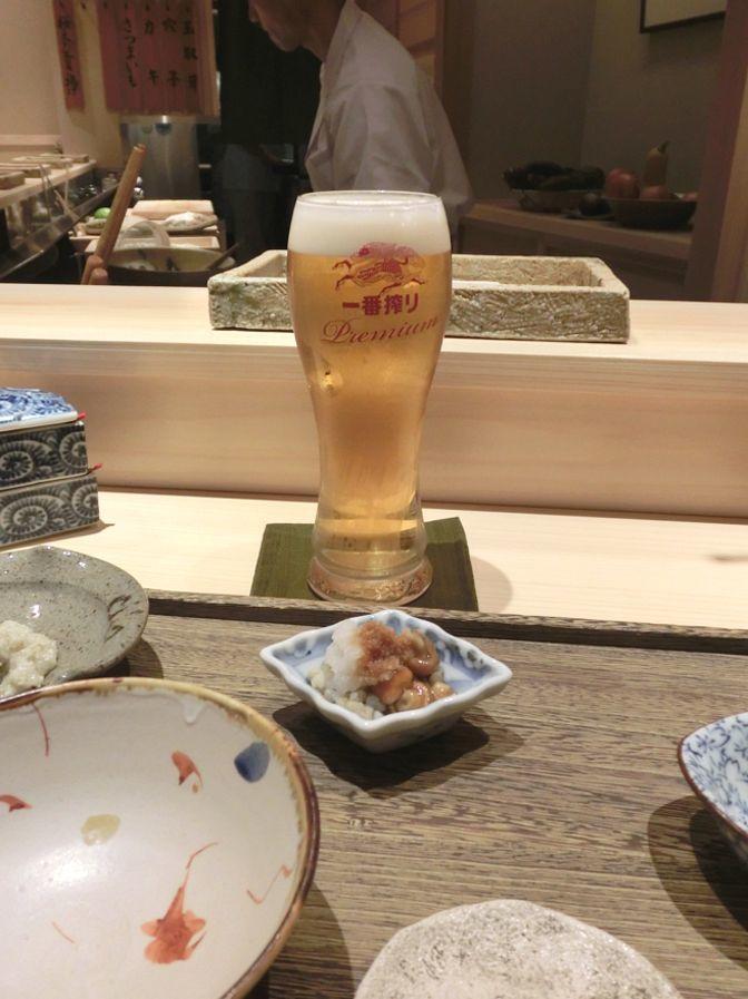日本橋 蕎ノ字 ビール