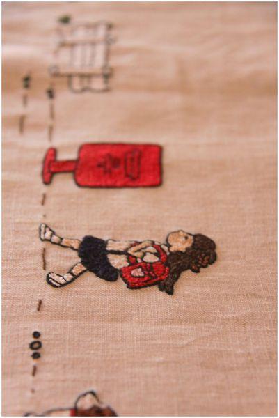 刺繍 通学mini