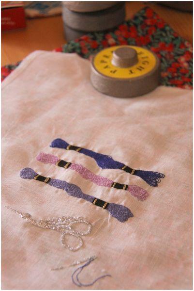 刺繍 刺繍糸mini
