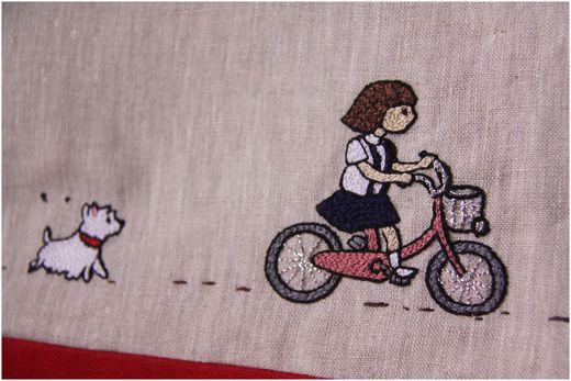 春花刺繍バッグ刺繍2mini
