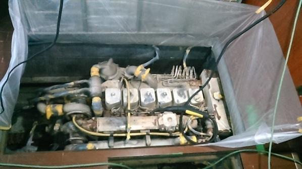 エンジン塗装ー2