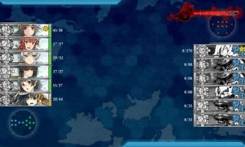 E-3-Q 夜戦1回目終了