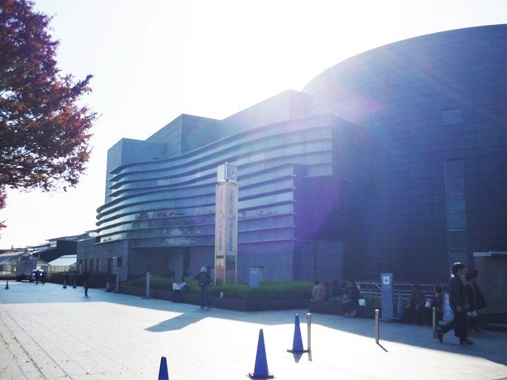 京都コンサートホールその1
