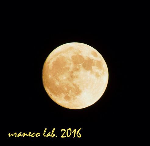 10月16日満月