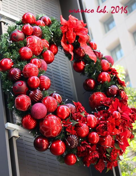 12月2日クリスマスリース