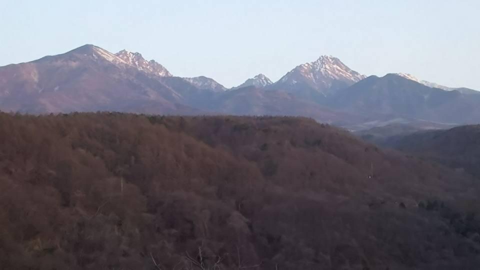 八ヶ岳4月