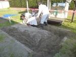 砂場清掃篩機「すなっぴー」