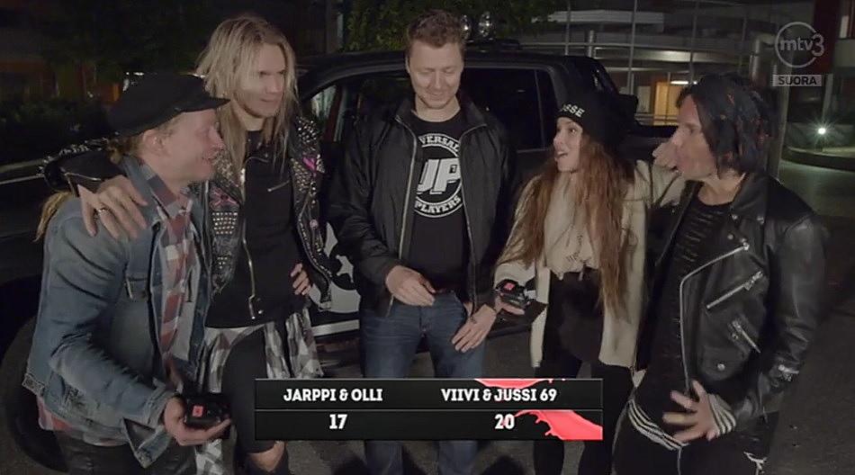 フィンランド TV POSSE Jussi69 Olli Herman