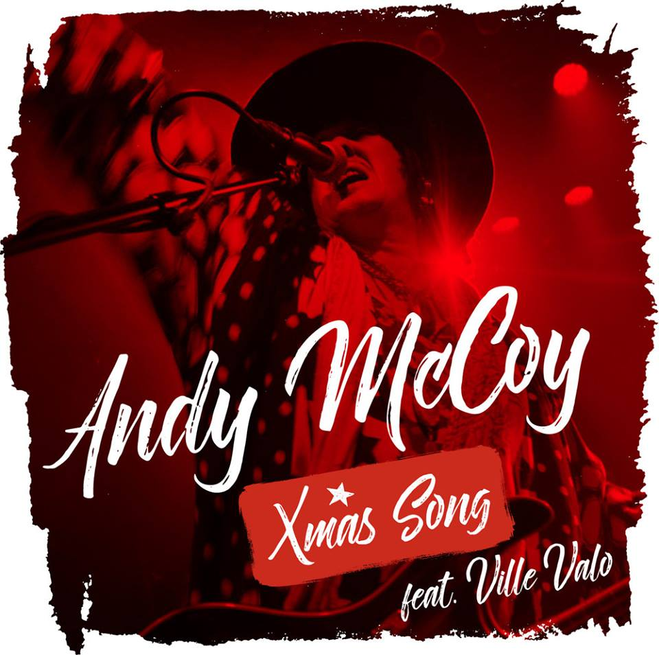 Andy McCoy Ville Valo Xmas song Kansi