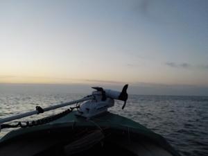 DSCN2516 日の出時間出航