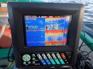 PB260004 朝一の魚探
