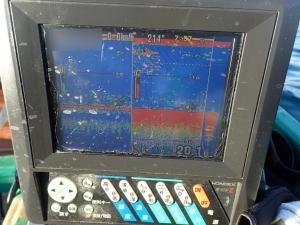 PC180011 8時ころの魚探