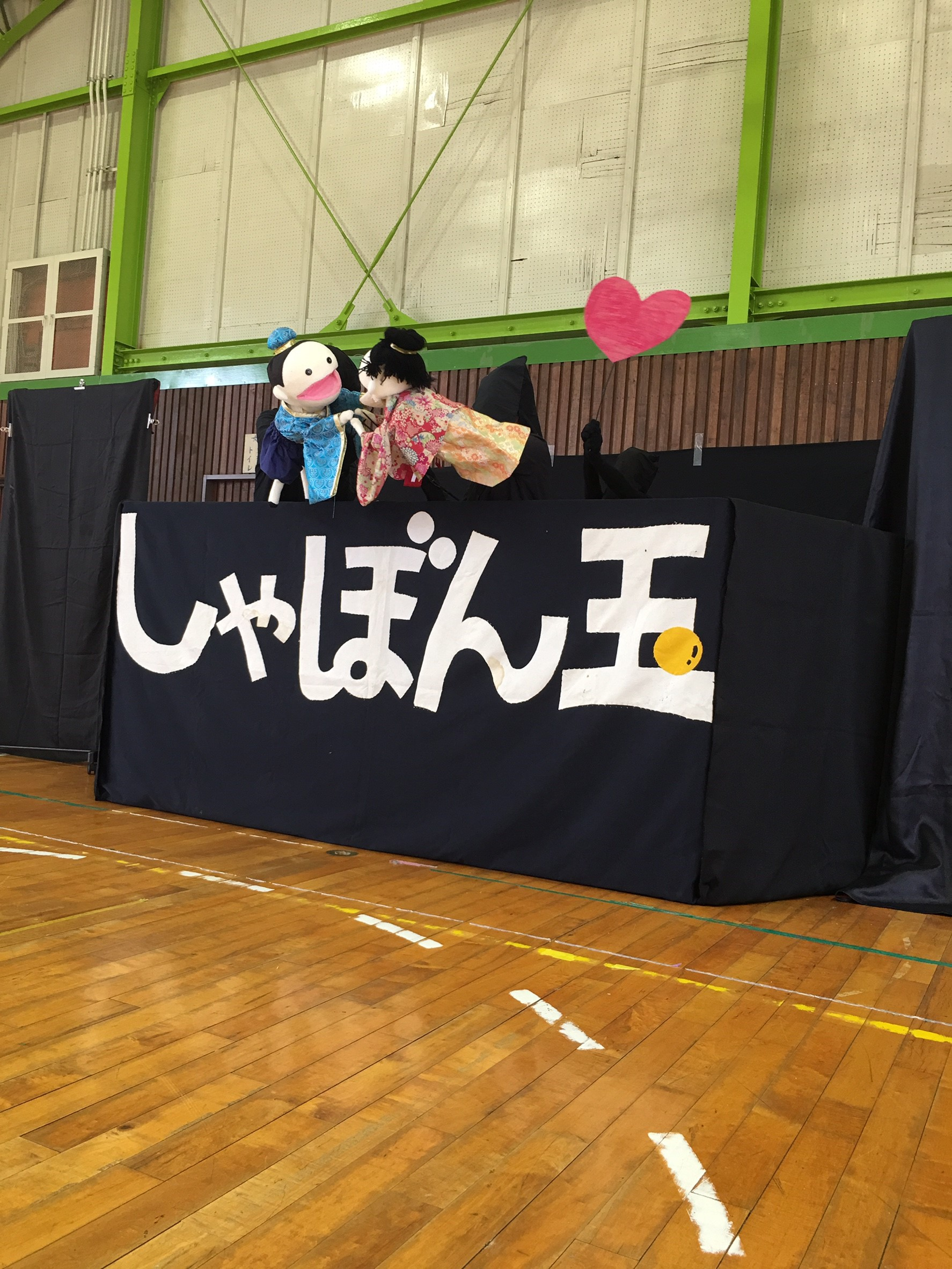 七夕公演のようす