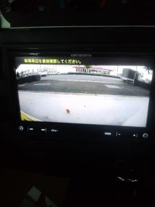 HM3 バモス ナビ取付 バックモニター画面