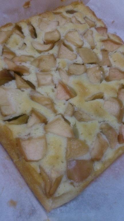 201610林檎ケーキ