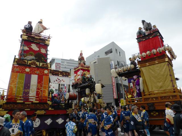 09松江一丁目(龍神の山車)2