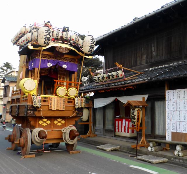 10三久保町(頼光の山車)2