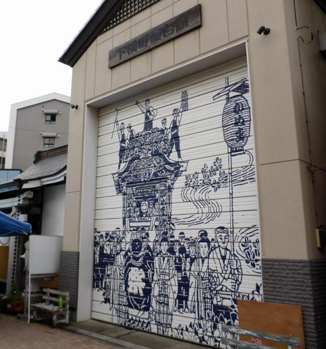 下横町彫刻屋台5