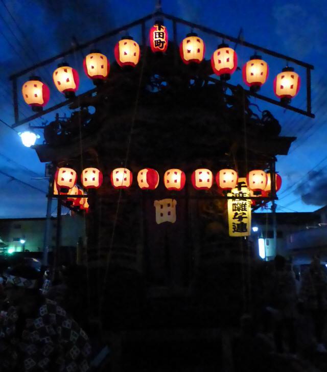 下田町彫刻屋台1