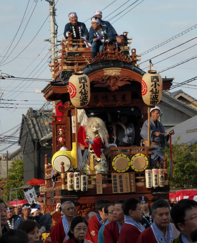 13西小仙波町(素戔嗚尊の山車)2