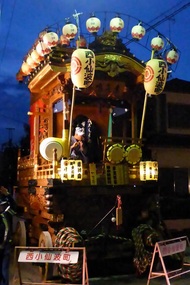 13西小仙波町(素戔嗚尊の山車)6