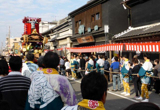15脇田町(徳川家康の山車)1