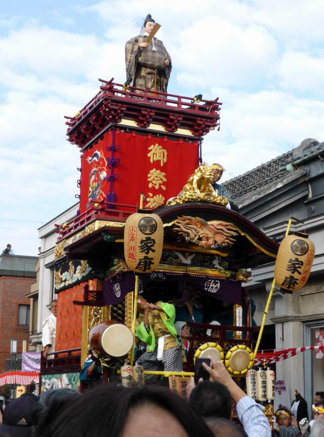 15脇田町(徳川家康の山車)2