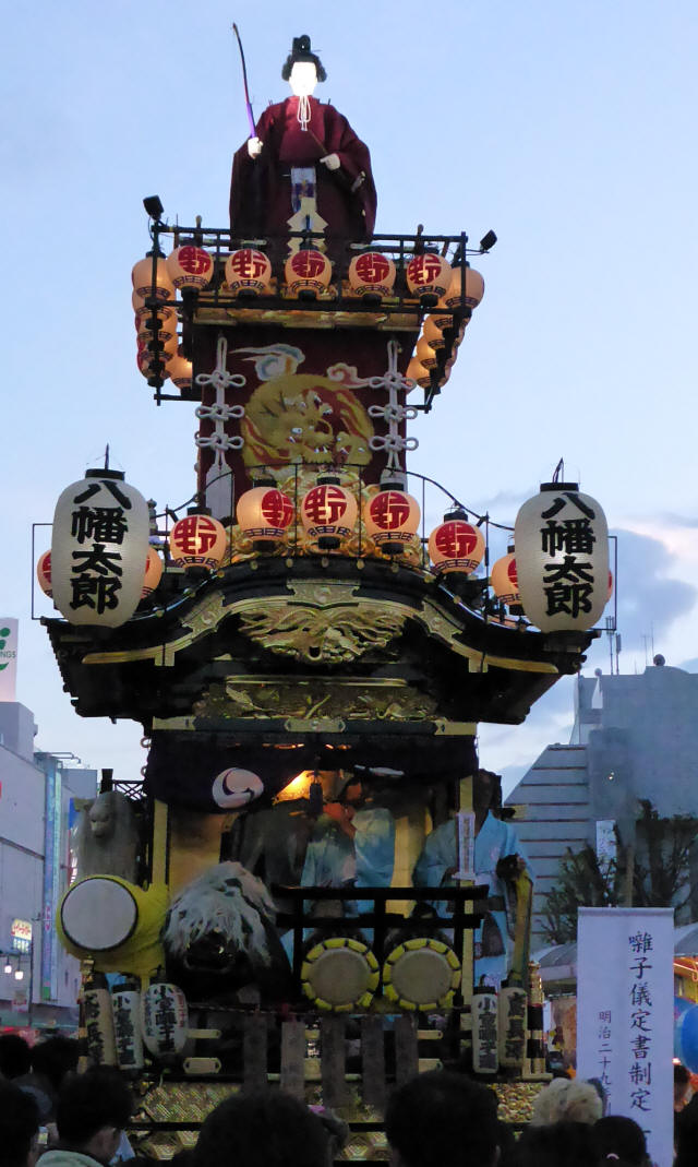 16野田五町(八幡太郎の山車)1