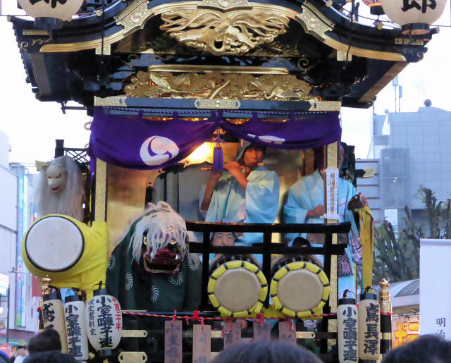16野田五町(八幡太郎の山車)4