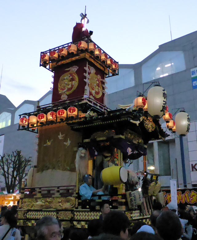 16野田五町(八幡太郎の山車)6