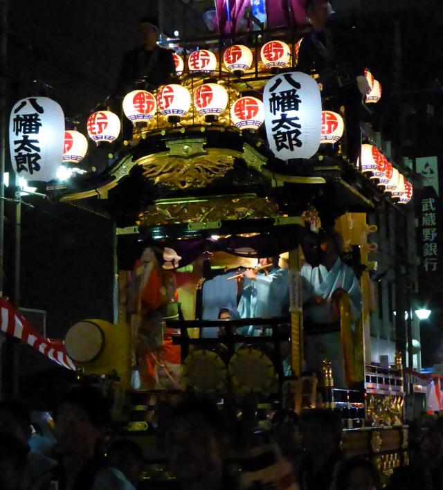 16野田五町(八幡太郎の山車)2