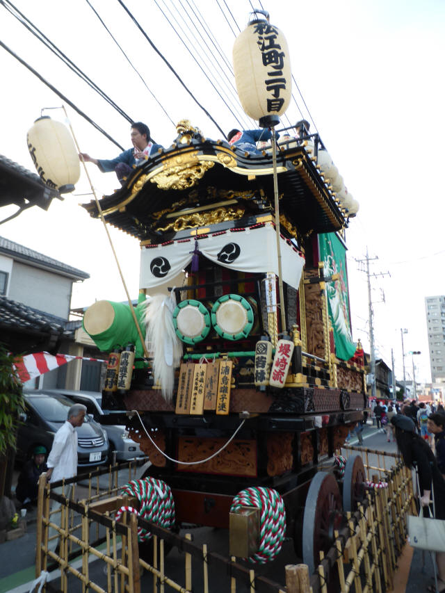 07松江二丁目(浦嶋の山車)1