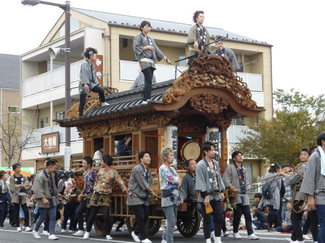 朝日町彫刻屋台8