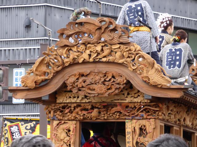 朝日町彫刻屋台9