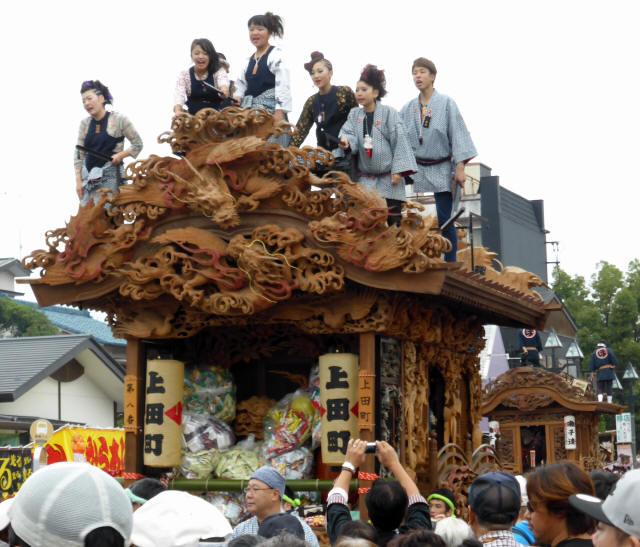 上田町彫刻屋台2