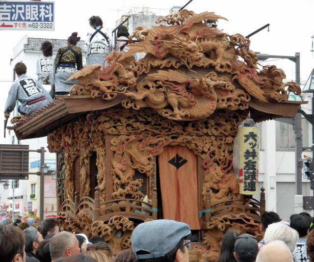 上田町彫刻屋台4