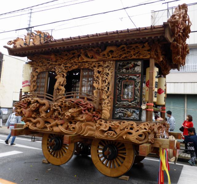 上田町彫刻屋台8